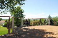 Deck with Cable Railing