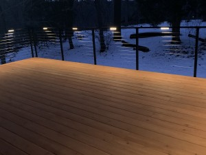 Lighting available with new deck build
